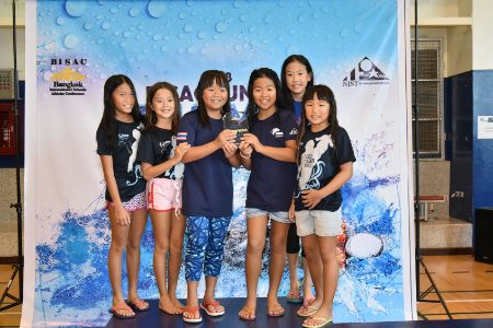 BISAC Swimming Results