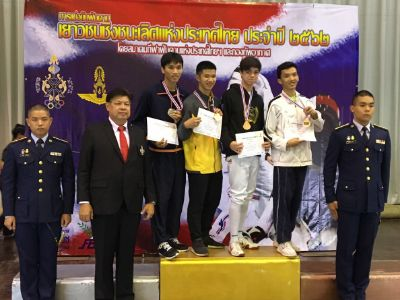 Falcons Fencers excel at Thai Youth Fencing Championships
