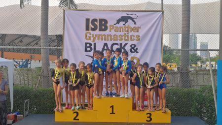 ISB Black and Gold Gymnastics Tournament Results