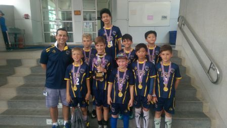 U11 Boys Soccer Team at NIST Tournament