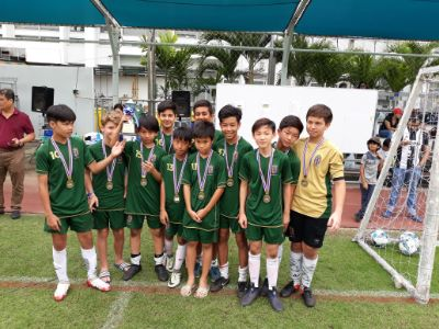 SHB STORM U13 BOYS FOOTBALL CHAMPIONS OF BISAC