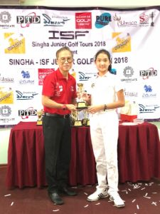 Holy (Yr5) rising star for SHB Golf