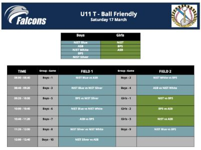 U11 Tee-Ball 17 March @NIST