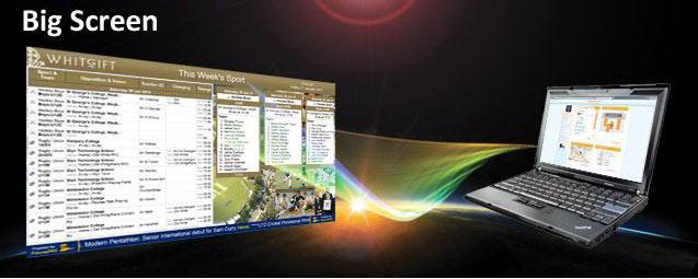 Big Screen Overview
